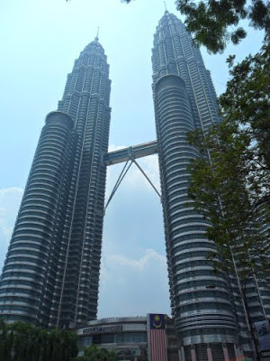 Petronas Towers 1 & 2, Kuala Lumpur, Malaysia