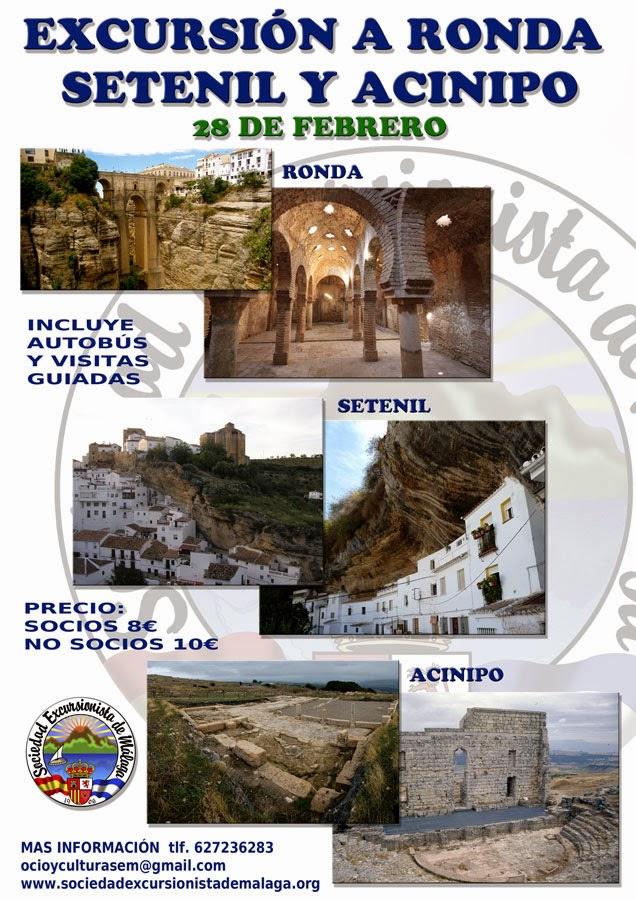 Baños Arabes Ronda Horario: de Malaga: Excursion a Ronda, Setenil y ruinas romanas de Acinipo