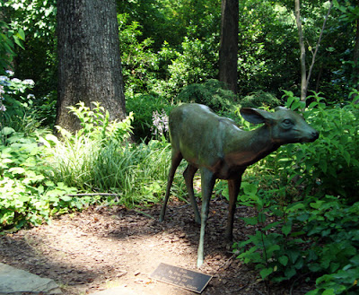 Deer by Frizt Zimmer, Atlanta Botanical Garden