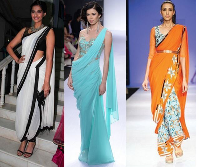 dhoti saree, sari gown, saree belt