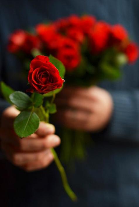 Receber flores