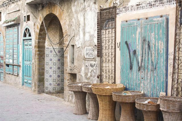 Portes bleues Maroc