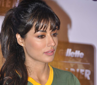 glorious hot lady Chitrangadha singh at soldier for women event by gillette