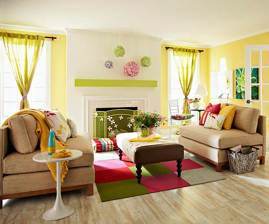Modern Furniture 2013 Spring Living Room Decorating Ideas