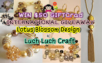 Lotus Blossom Design x Luch Luch Craft Giveaway