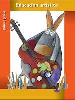Libro de texto educacion artistica primer grado