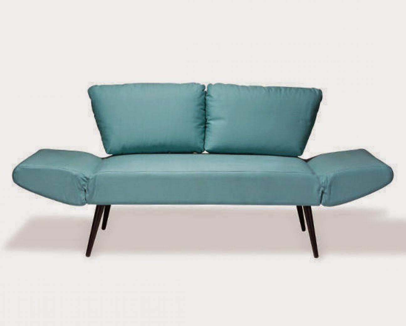 Decora o sof s e decora o de apartamentos for Sofa cama turquesa
