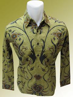 GAMBAR Design Baju Batik Pria