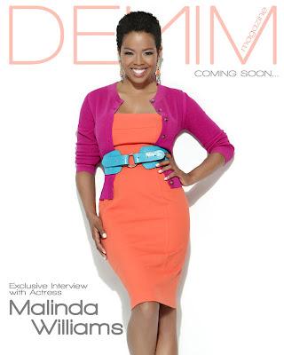 >Malinda Williams en couv' de Denim Magazine