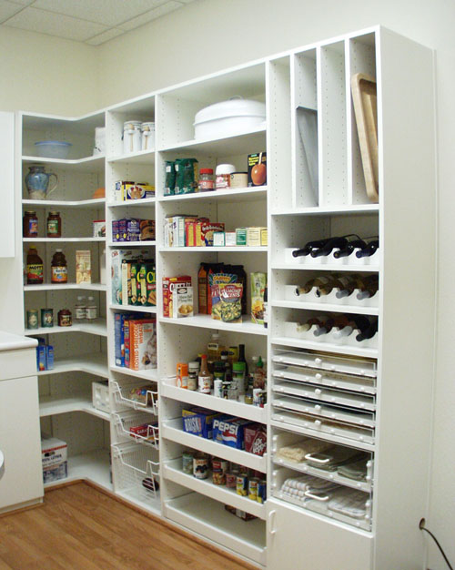 33 cool kitchen pantry design ideas modern house plans for Kitchen closet ideas