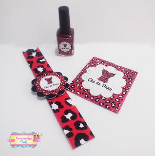 kit manicure oncinha