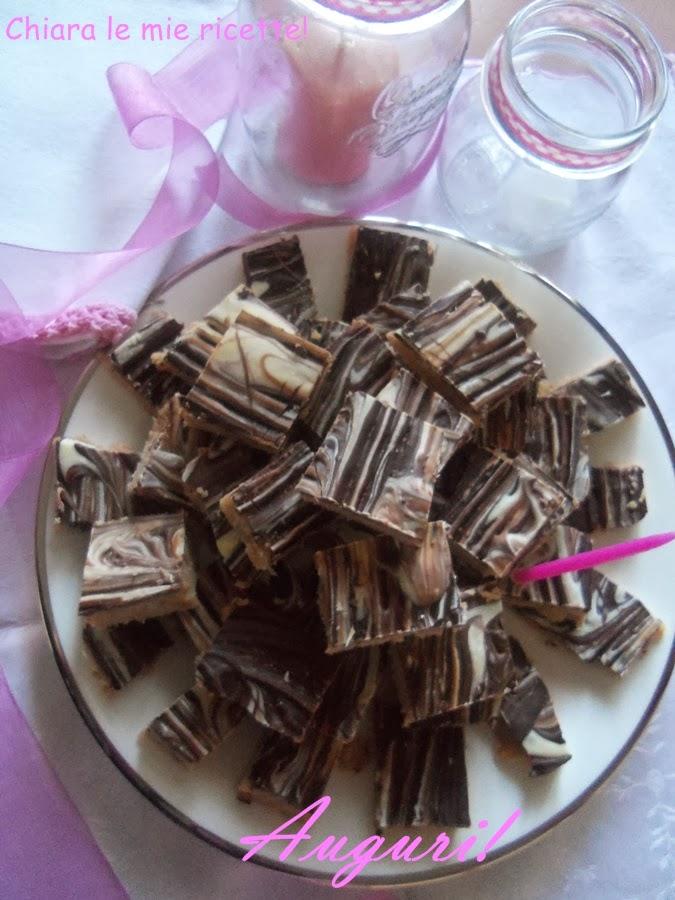 quadrotti cocco-cioccolato