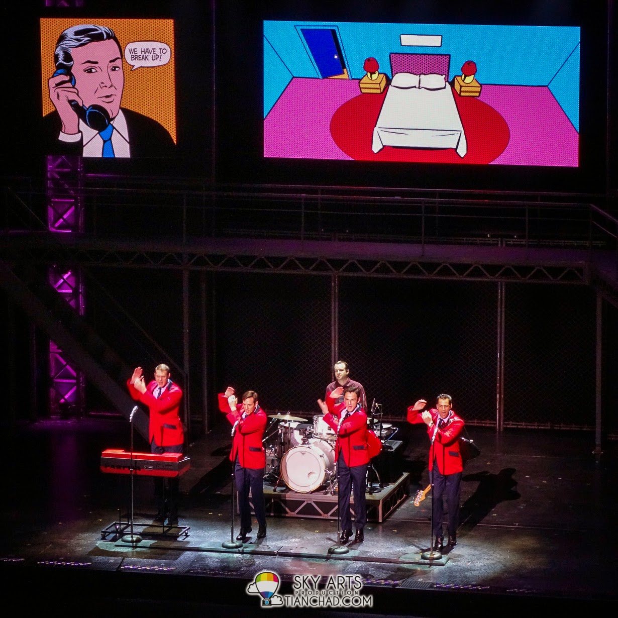 Jersey Boys @ Istana Budaya KL [19 April 2014]