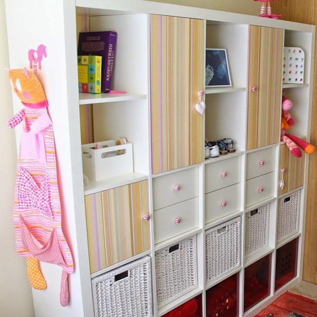 A closet on a bookcase ikea hackers for Bookcase closet