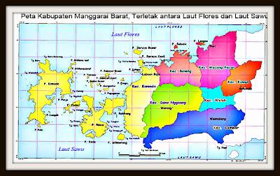 peta manggarai