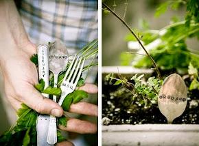 { Cosa semini? DIY seeds markers }