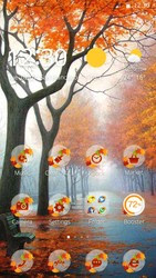 Screenshots of the Autumn for Android tablet, phone.