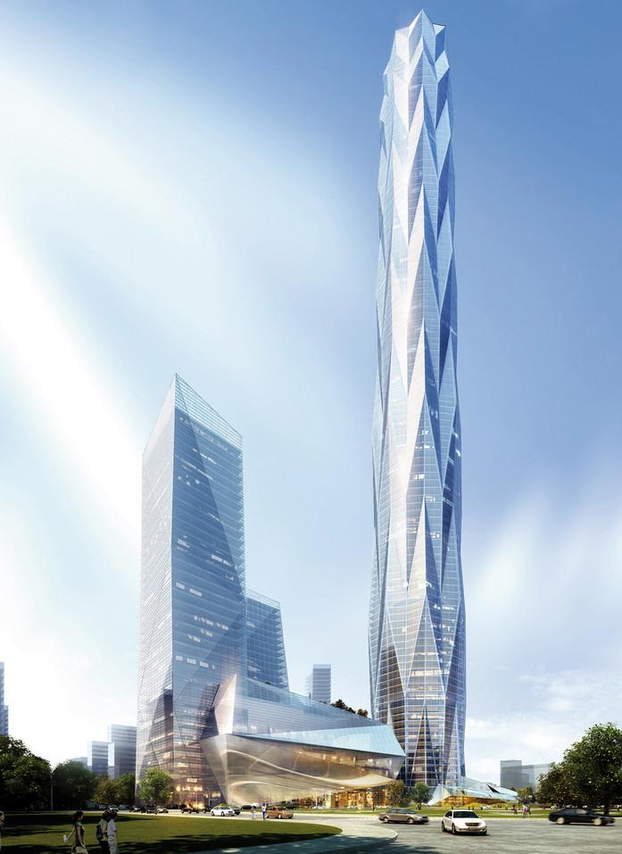 468 M Chengdu Sky Tower Conquer