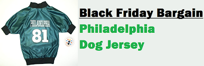 Philadelphia Eagles dog football jersey