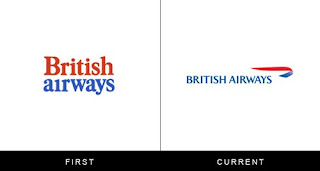 évolution du logo britsh airways