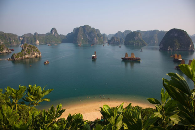 World Heritage Ha Long Bay Vietnam