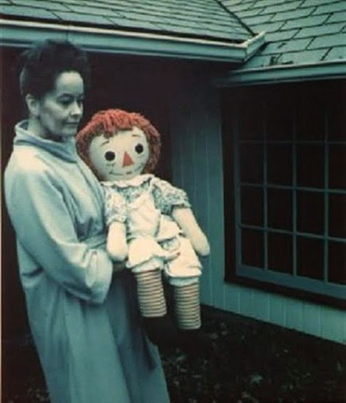 Lorraine Warren with Haunted Doll