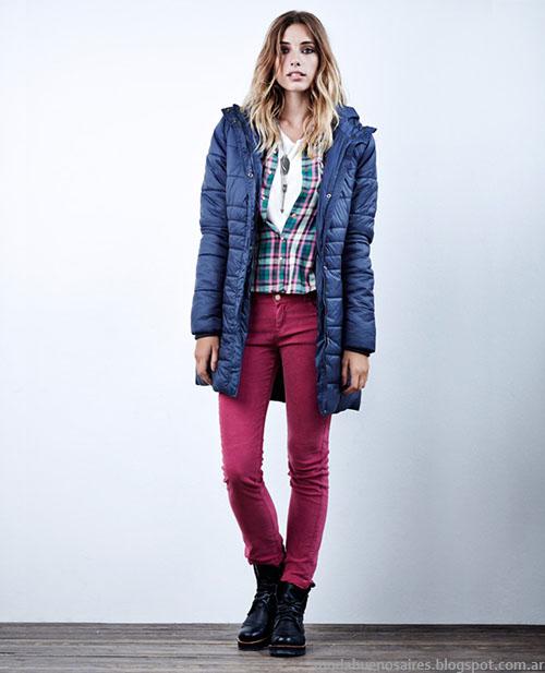 Moda invierno 2015 camperas Wrangler Mujer.