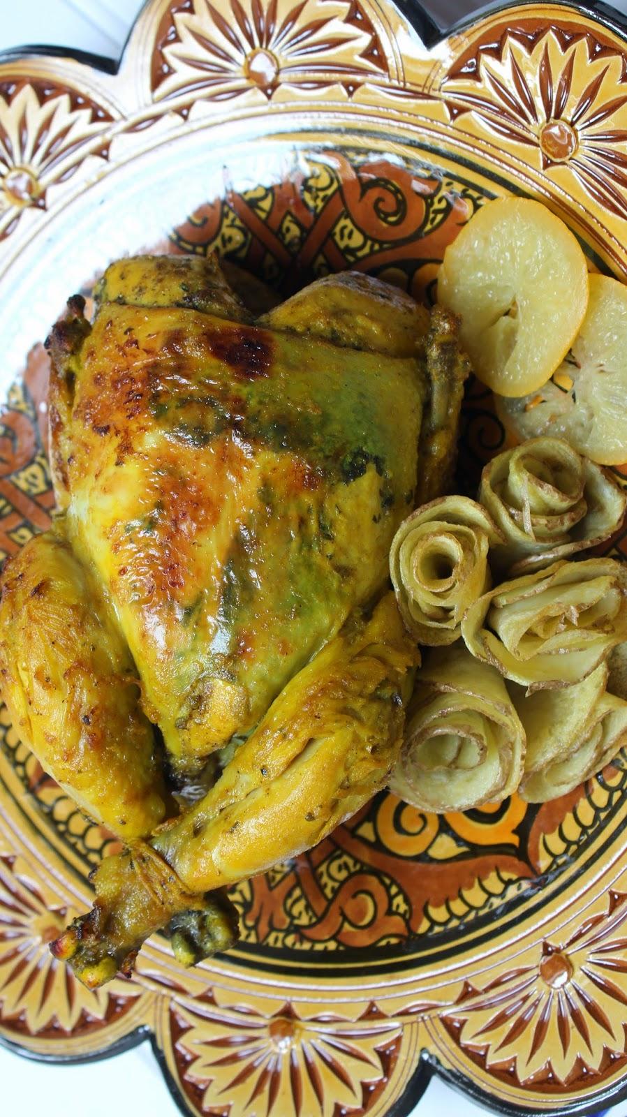 pollo-marroquí-relleno-con-fideos-chinos