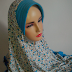 Jilbab instant langsung pakai motif bunga | pet | rempel