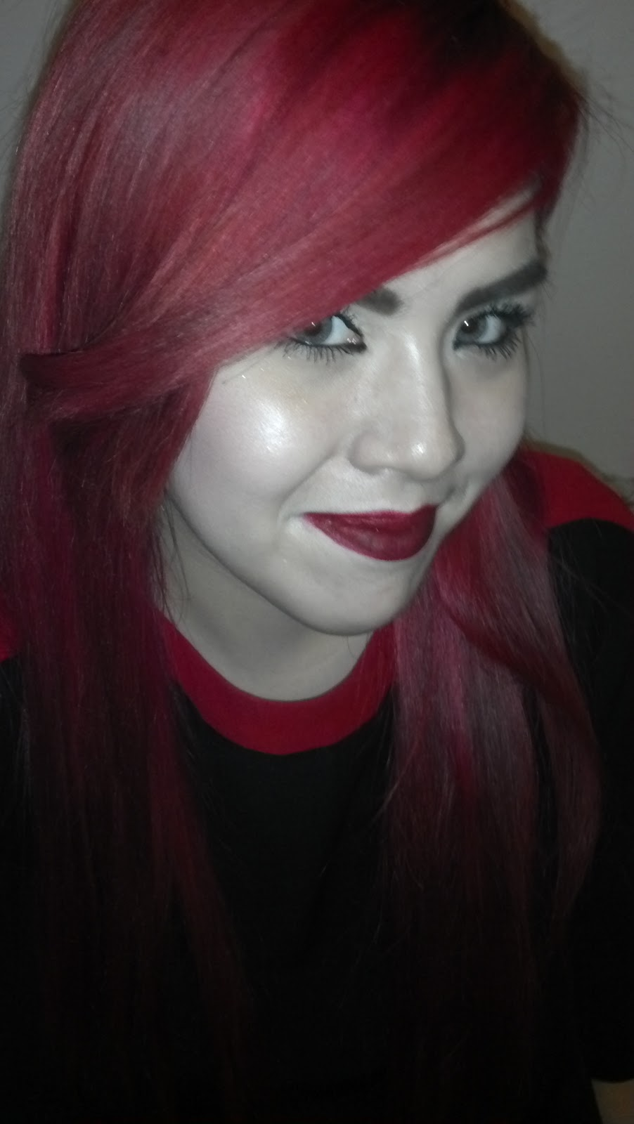 Jessiedollie Go From Jet Black To Red Hair In One Day