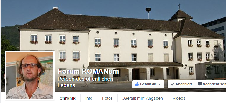 Forum ROMANum auf Facebook