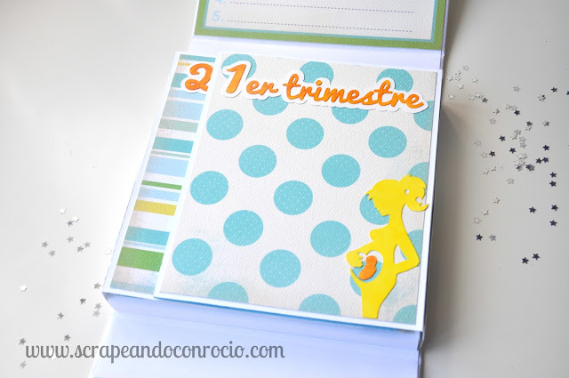 Album Embarazo Mini Album Bebé Scrapbooking