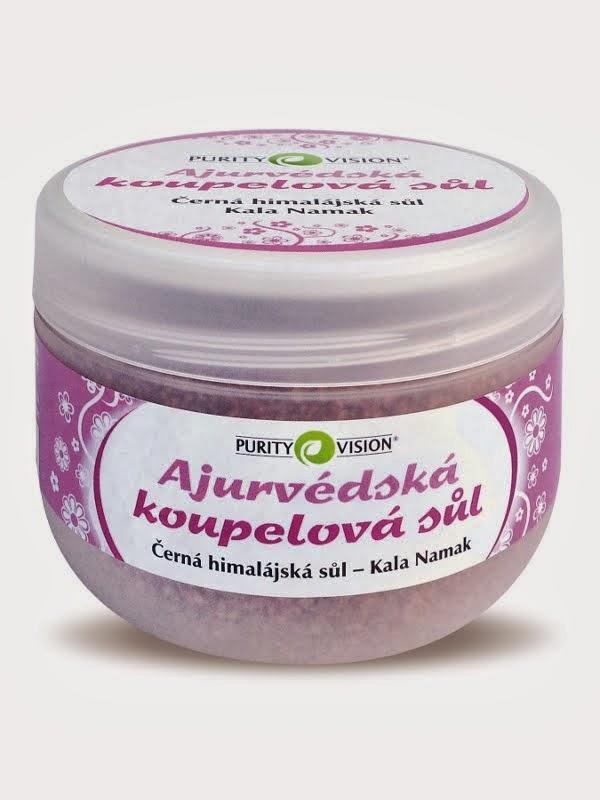 Ajurvédská koupelová sůl Kala Namak