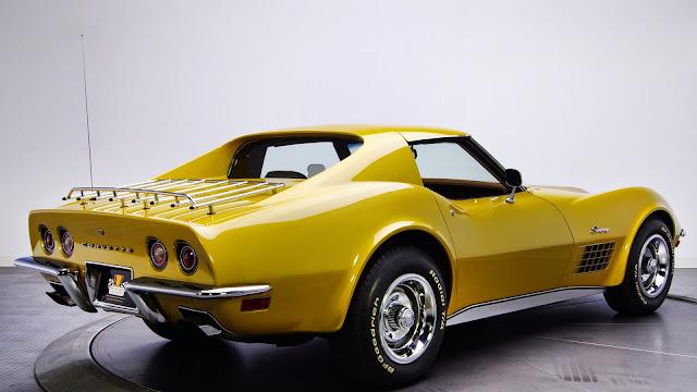 Chevrolet Corvette Stingray C3 1970 carros clasicos