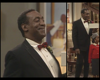 The Cosby Show Huxtable fashion blog Cliff Bill Cosby tuxedo prom