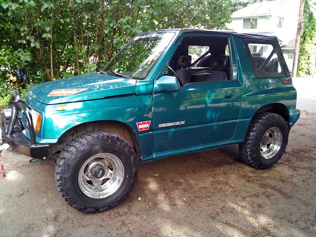 Suzuki Sidekick, Kumho tires, Road Venture KL71
