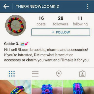 Follow @therainbowloomkid on Instagram! :)