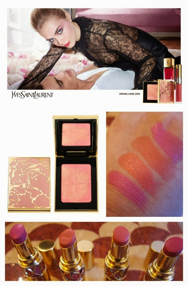 YSL Spring Beauty Look 2014