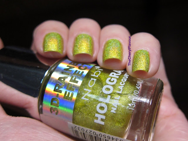 Swatch: Nabi Holographic Gold