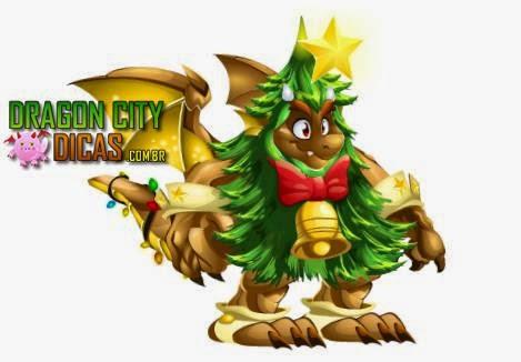 Dragão Árvore de Natal