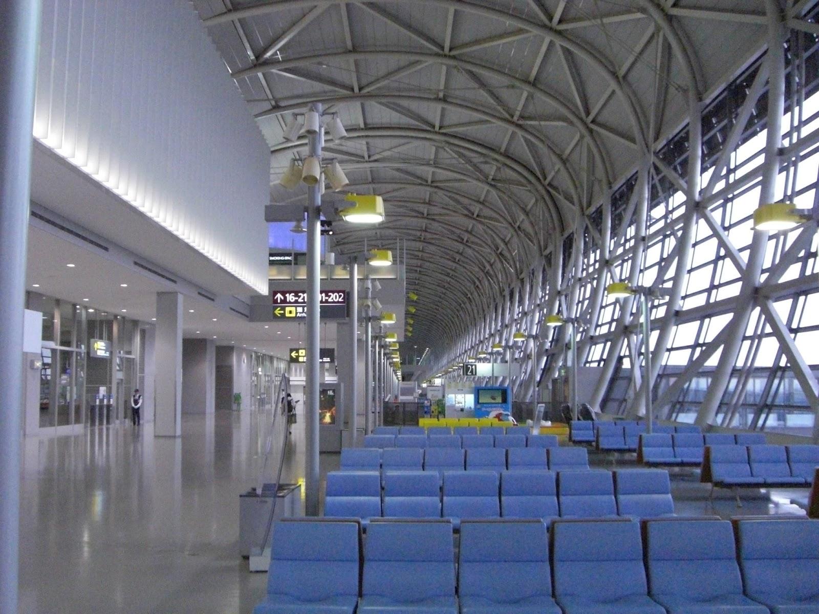 Aeroporto Kansai Osaka : Prancheta de arquiteto proj aeroporto kansai intl