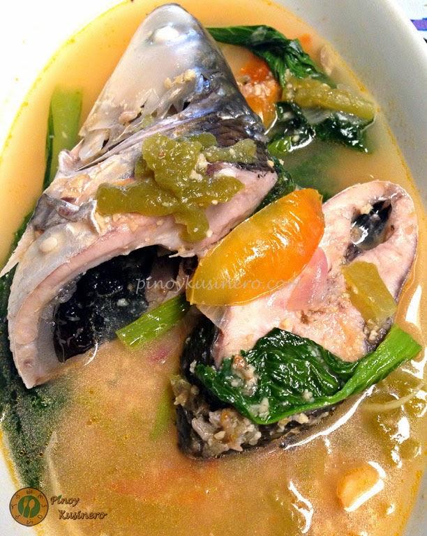 Sinigang Na Bangus Sa Miso Milkfish In Sour Miso Soup Pinoy Kusinero