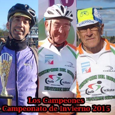 Los Campeones del Club 2015