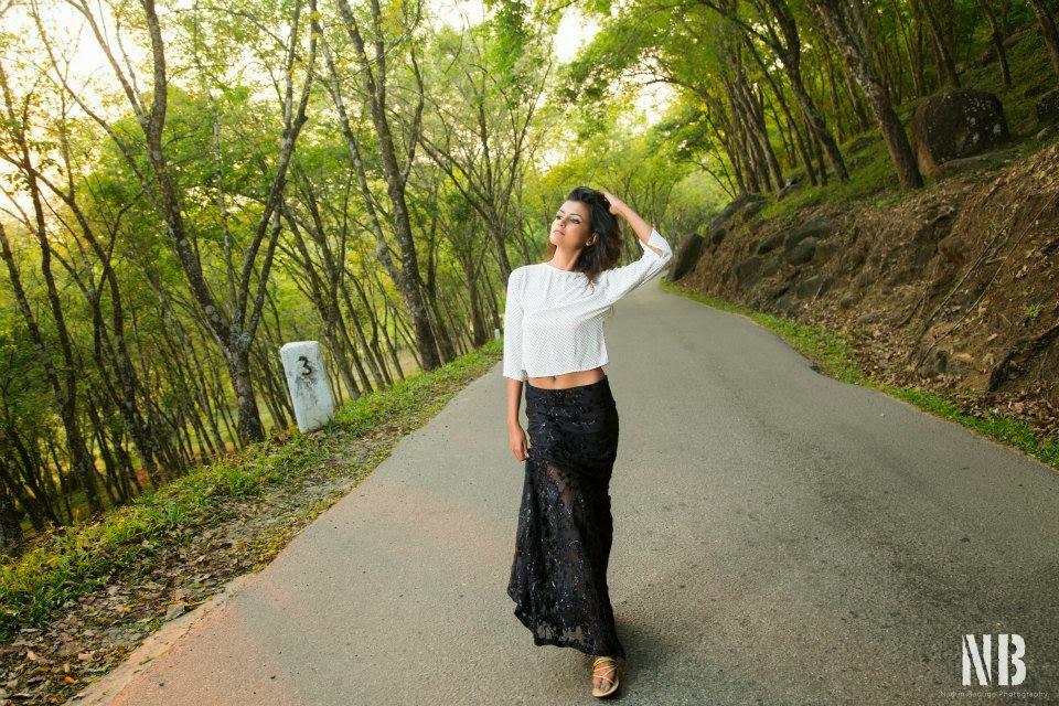 Inoma De Silva sri lankan model