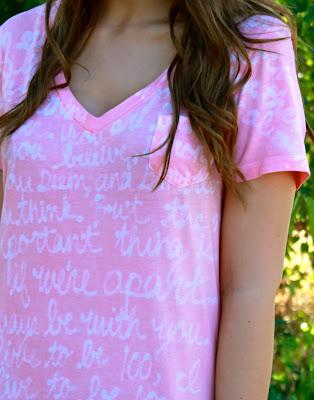 customizando camisetas