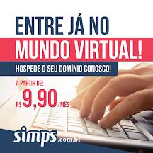 Hospedagem para seu Site por apenas R$9,90 mensal na Simps.