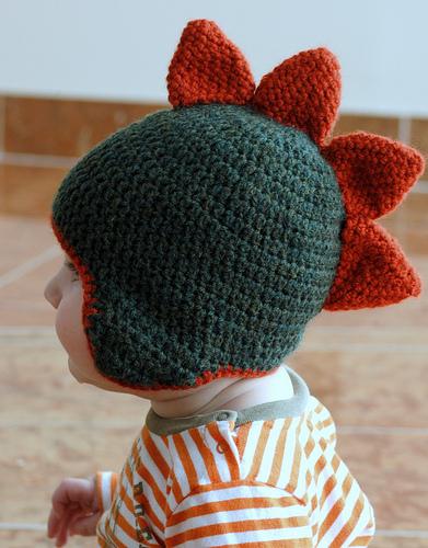 Free Crochet Pattern Dinosaur Hat : Mis obsesiones de hoy: septiembre 2011
