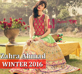Zahra Ahmad Guzellik Winter Collection 2016-2017