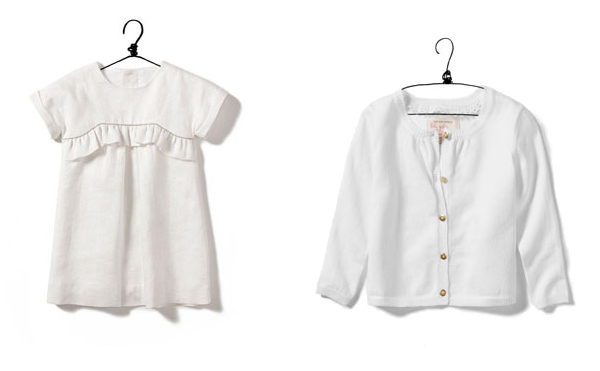 White outfite for summer parties (all Zara)