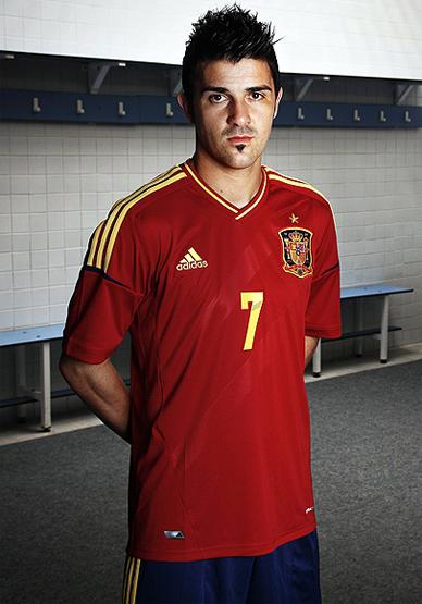 camiseta selección española Eurocopa 2012